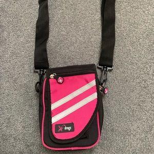Pink iFrogz crossbody